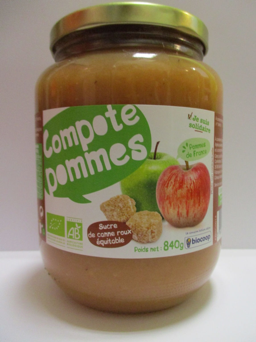 Compote pomme 840g